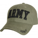 Olive Drab Military US Army Deluxe Low Profile Adjustable Cap