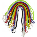 Assorted Colored Whistle Lanyard