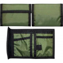 Olive Drab Military Nylon Commando Tri-Fold Wallet