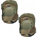 Woodland Camouflage Multi-Purpose Tactical SWAT Elbow Pads