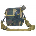 Woodland Camouflage 2 Quart Bladder Canteen Cover