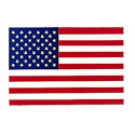 US American Flag Decal (Back Gum)