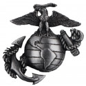 Subdued USMC Insignia Pin