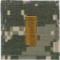 ACU Digital Camouflage 2nd Lieutenant Rank Insignia Patch