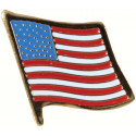US American Flag Insignia Pin