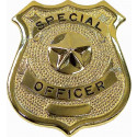 Special Officer Classic Star Badge - Gold