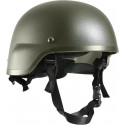 Olive Drab ABS MICH-2000 Replica Tactical Helmet
