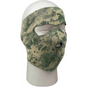 ACU Digital Camouflage / Black Reversible Stretch Full Face Mask