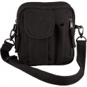 Black Canvas Venturer Excursion Organizer Shoulder Bag