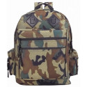 Woodland Camouflage Military Deluxe Tactical Water Resistant Backpack