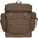 Brown European Style Rucksack Military Backpack