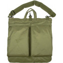 Olive Drab Military Flyers Helmet Shoulder Bag