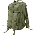Olive Drab Military MOLLE Medium Transport Assault Pack Backpack