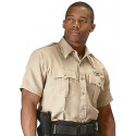 Khaki Law Enforcement Issue Uniform Short Sleeve Shirt