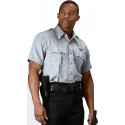 Grey Law Enforcement Issue Uniform Short Sleeve Shirt