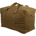 Coyote Tan Military Parachute Cargo Bag