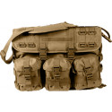 Coyote Brown Military MOLLE Tactical Shoulder Computer Briefcase