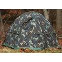 Woodland Camouflage 3 Man Hexagon Dome Tent