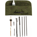 Olive Drab Military Enhanced M-16 Rifle Cleaning Kit