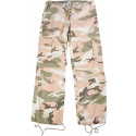 Subdued Pink Camouflage Vintage Paratrooper Fatigues (Womens)
