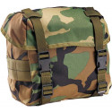 Woodland Camouflage Nylon Enhanced Butt Pack