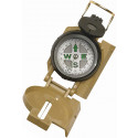 Tan Tactical Military Marching Lensatic Compass