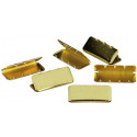Brass Plated Military 100 Pieces Web Belt Tips