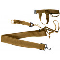 Coyote Brown 3-Point Rifle Sling