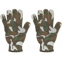 Woodland Camouflage Spandoflage Work Gloves