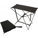 Black Military Tactical Lightweight Folding Camp Stool
