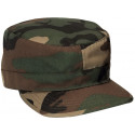 Woodland Camouflage Military Patrol Fatigue Cap