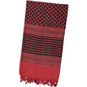 Red & Black Shemagh Lightweight Arab Tactical Military Desert Keffiyeh Scarf