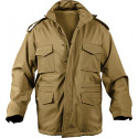 Coyote Brown Military Soft Shell Tactical M-65 Field Jacket