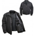 Black Military Concealed 3 Season Tactical Carry Jacket