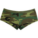 Woodland Camouflage Booty Short (Womens)