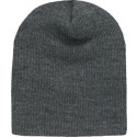 Charcoal Grey Military Warm Acrylic Beanie Skull Cap