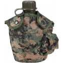Woodland Digital Camouflage 1 Quart Canteen Cover