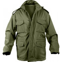 Olive Drab Military Soft Shell Tactical M-65 Field Jacket