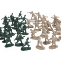 WWII Military Toy Army Men (40 Pieces)
