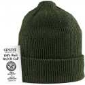 Olive Drab Military Winter Beanie Hat Acrylic Wintuck Watch Cap USA Made