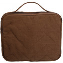 Brown Canvas iPad & Netbook Sleeve Pouch Padded Vintage Bag