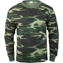 Woodland Camouflage Knit Underwear Undershirt Top