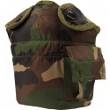Woodland Camouflage GI Style Canteen Cover