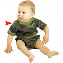 Woodland Camouflage Infant Short Sleeve T-Shirt