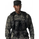 Black Military Equipment Tactical Assault Gear Vest