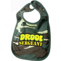 Woodland Camouflage Drool Sergeant Infant Baby Bib