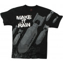 Black Bombs Make It Rain Vintage T-Shirt