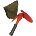 Orange Mini Pick Shovel with Cover