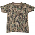 Smokey Branch Camouflage Kids Military Tactical T-Shirt