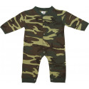 Woodland Camouflage Infant Long Sleeve & Legs One Piece Bodysuit